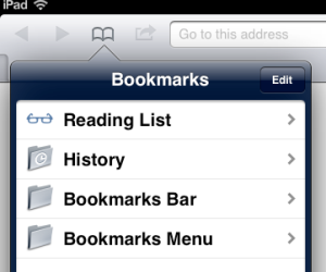 BookmarksiPad