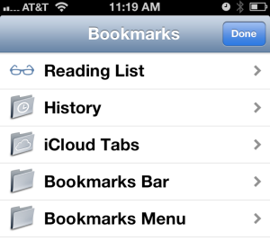 BookmarksiPhone
