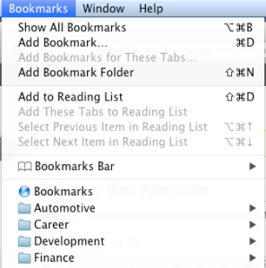 BookmarksOSXMenu