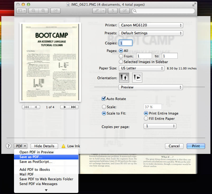 save pdf multiple pages photoshop