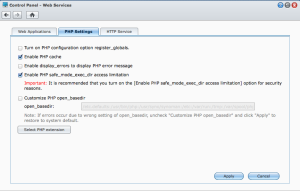 Synology PHP Enable