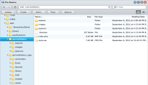 Synology File Manager