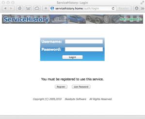 Synology Web Server via browser