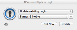 1Password Update