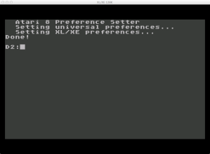 6502 Atari 130 XE Prefs