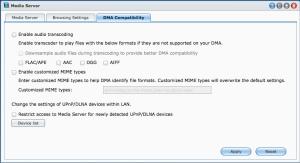 Synology Media Server DMA Compatability