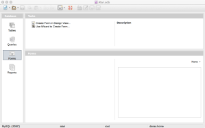 OSX LibreOffice MySQL Base